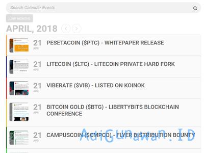 Situs Informasi Event Bitcoin dan Cryptocurrency Terbaru