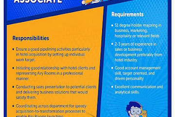 Lowongan Kerja Bandung Business Development Associate STP NHI
