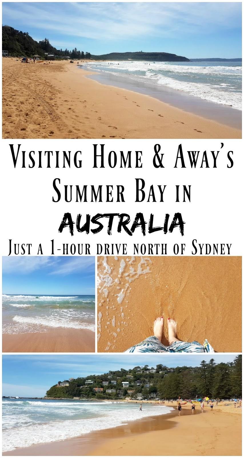 PIN FOR LATER: Palm beach is the real life filming location of the famous Australian TV show, Home and Away. In Home and Away the suburb and beach is called 'Summer Bay'. The beach is just a 1 hour drive north of Sydney, and is such a cute and relaxed place to visit for the day!