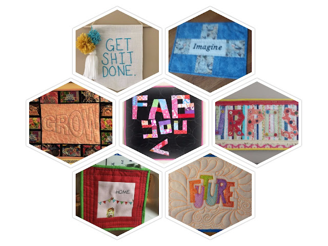 words for the year quilts