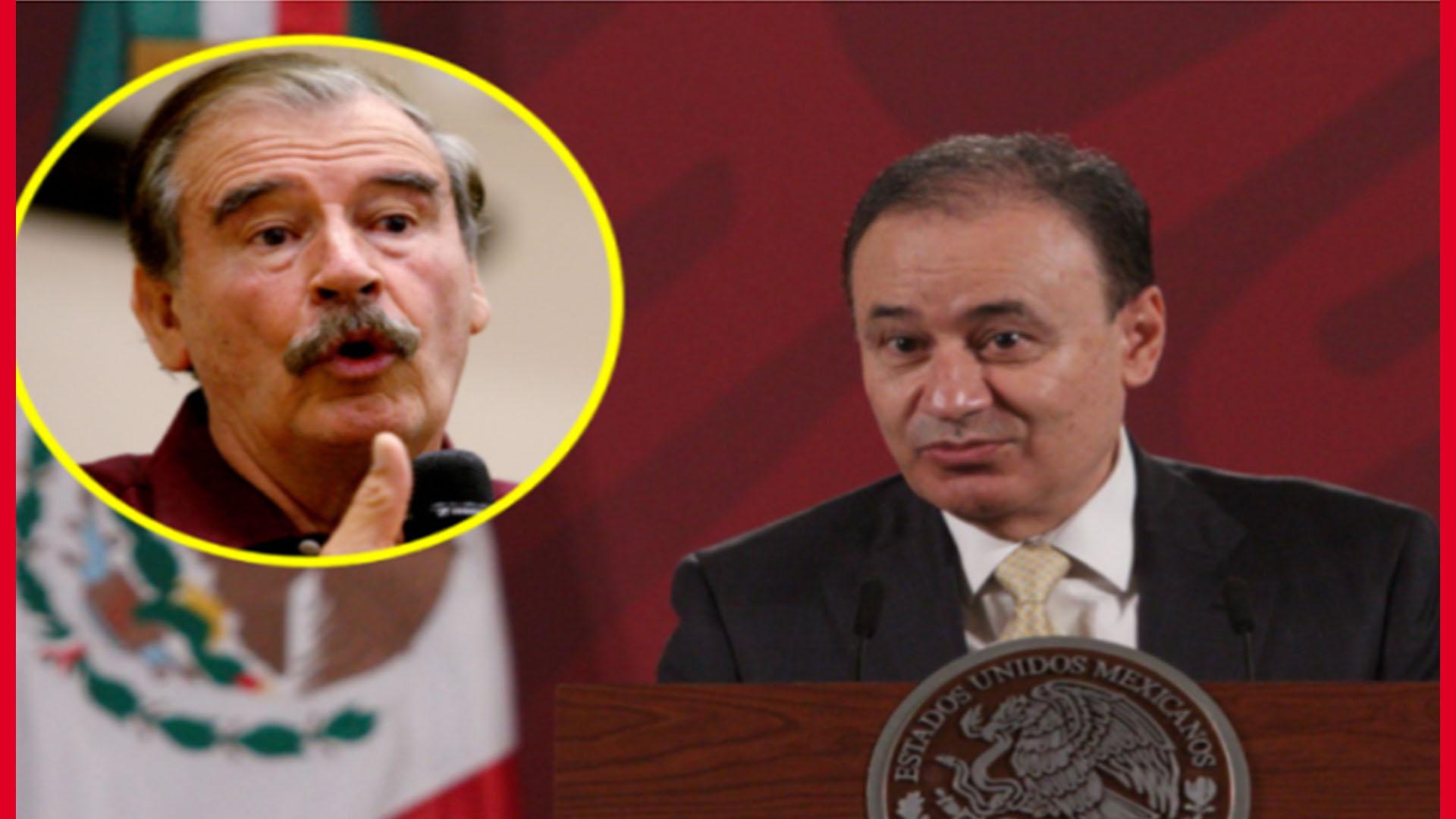 Fox se lanza contra Durazo por renunciar a la SSPC para competir por la Gubernatura de Sonora