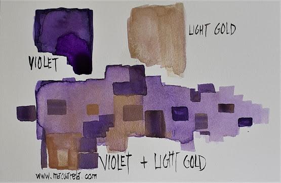 "<alt=""Light Gold y Color Violeta de cobalto""/>"