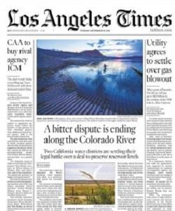 Los Angeles Times Magazine 28 September 2021