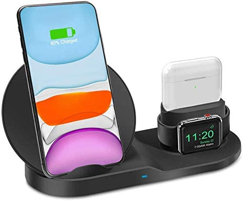 Ebeet iPhones 3 in 1 Wireless Charger