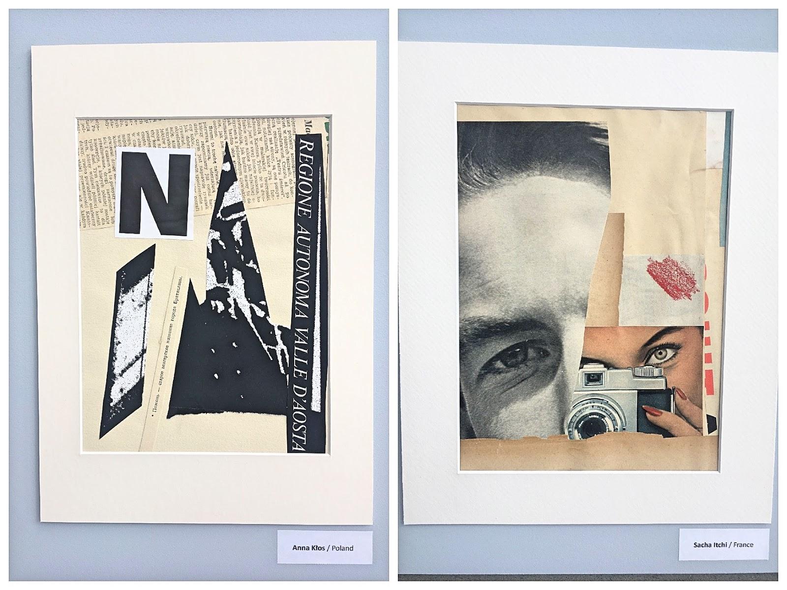 Anna Kłos, Sacha Itchi collage art