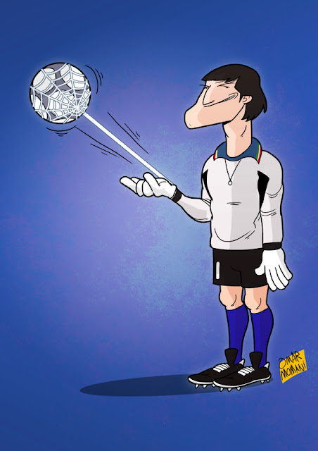 Walter Zenga Cartoon Caricature
