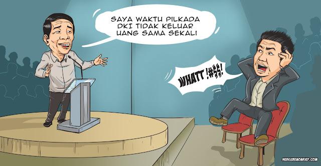 Menyaksikan Hebatnya Permainan Watak Jokowi