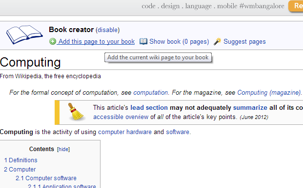 How to Create offline Encyclopedia from Wikipedia