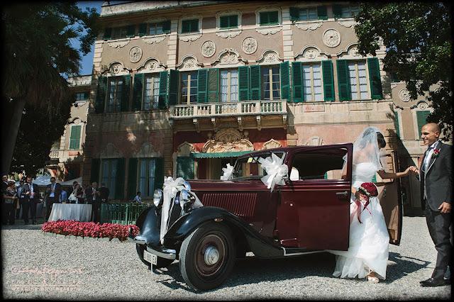 foto matrimonio Villa Faraggiana Albissola