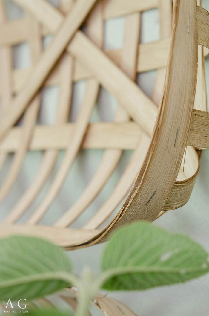 Handmade DIY Tobacco Basket Tutorial  |  www.andersonandgrant.com