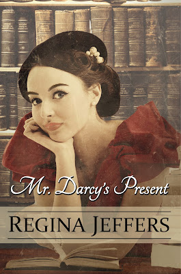 Book cover: Mr Darcy's Present by Regina Jeffers