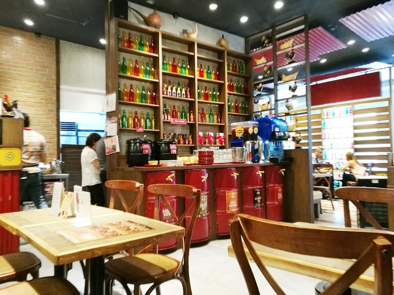 Peri-Peri Charcoal Chicken and Sauce Bar at Venice Piazza Mall