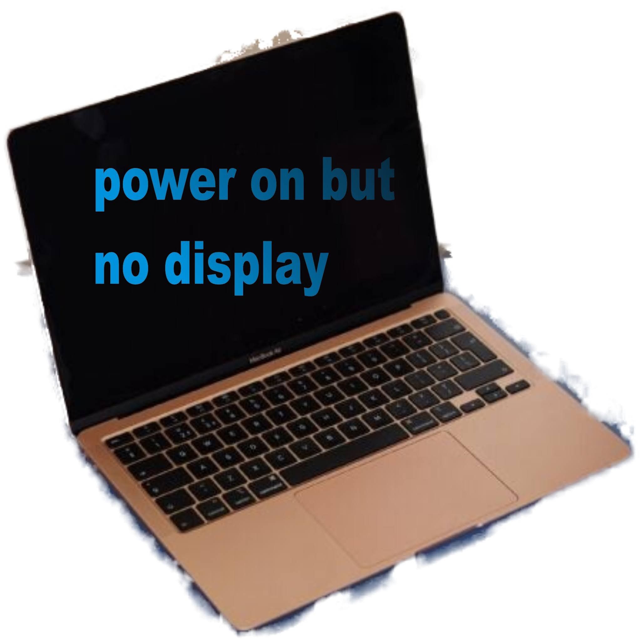 power on but no display
