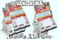 Pesugihan Islami Uang Asma Pemanggil Uang