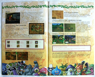 Dragon Quest VIII - El Periplo del Rey Maldito - Manual Pal España interior