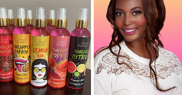 Portia Bledsoe, founder of Sweet Escape Cosmetics