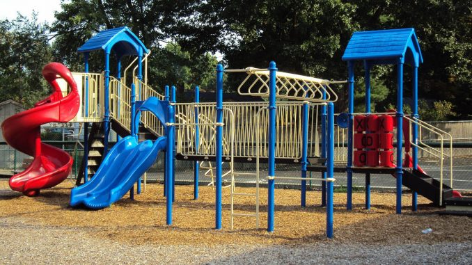 Manufacturing of playgrounds