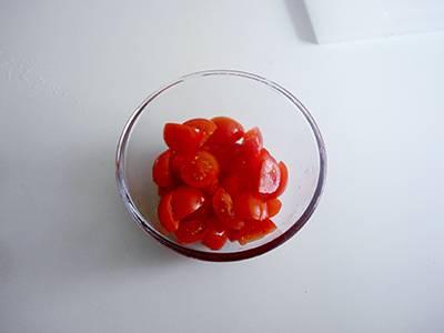 Pasta con peperoni e pomodorini 2