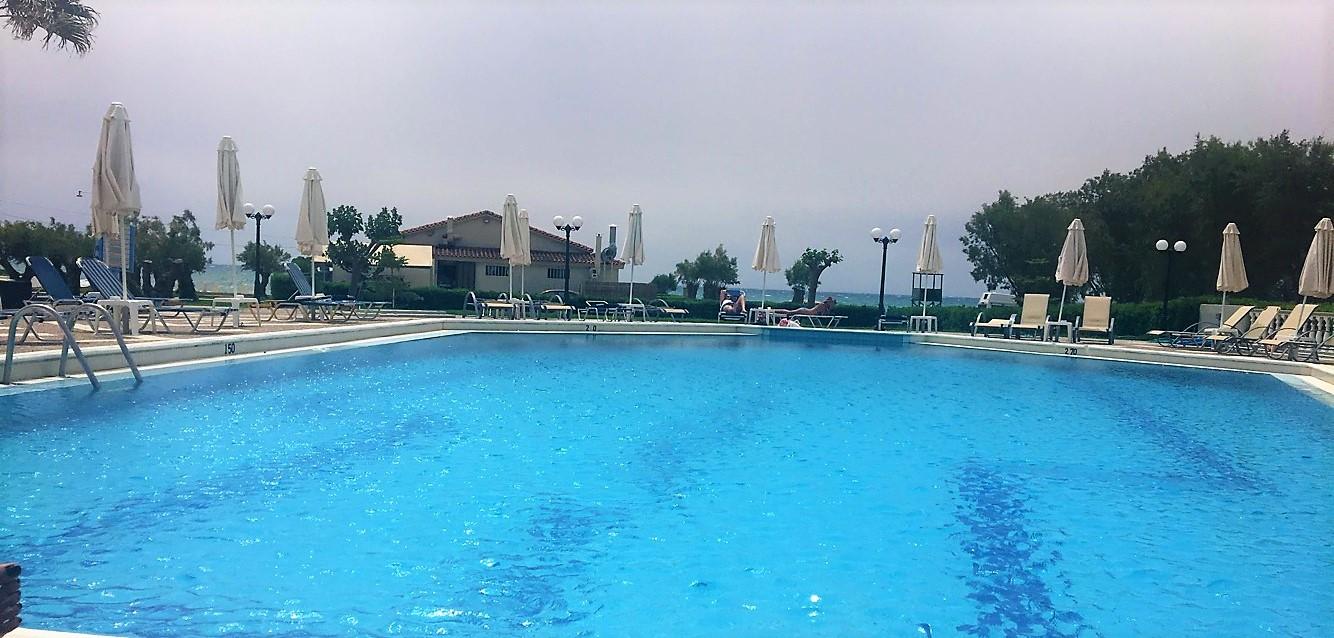 Kalamaki Beach Hotel Pool Zakynthos