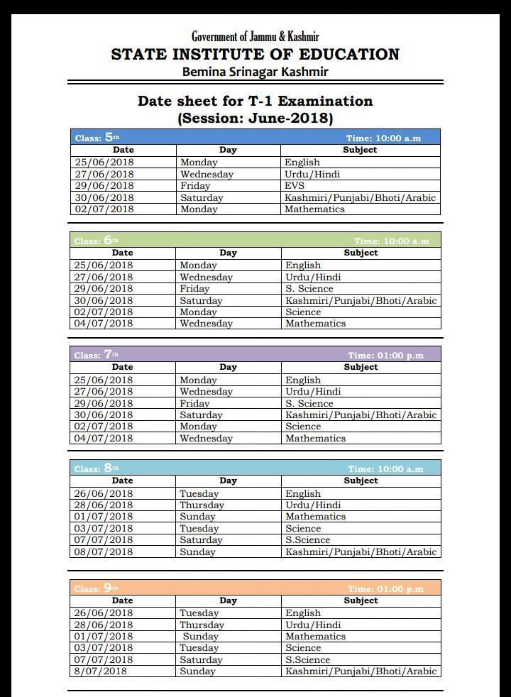 Hp board date sheet 9th class | funclaposi