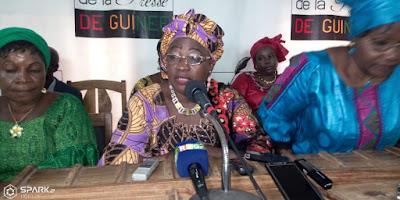 madame Mariama Sylla ancienne ministre à la décentralisation