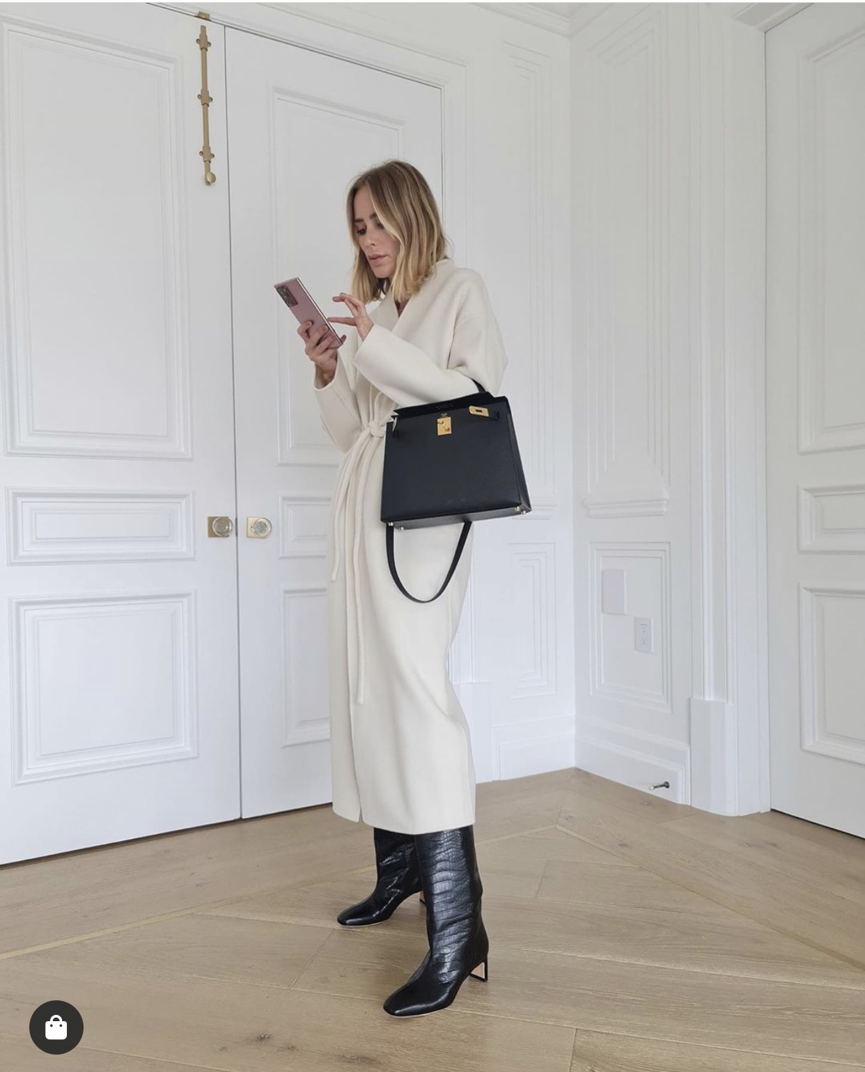 Style Inspiration | Mini Trend: The Hermès Kelly Bag