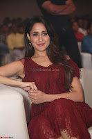 Pragya Jaiswal in Stunnign Deep neck Designer Maroon Dress at Nakshatram music launch ~ CelebesNext Celebrities Galleries 142.JPG