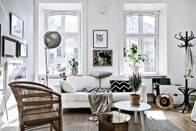 Amenajare scandinavă într-o garsonieră de 49 m²