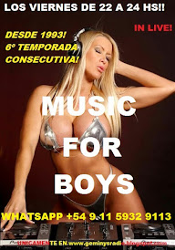 MUSIC FOR BOYS