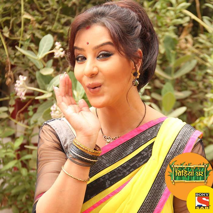 Shilpa Shinde sexy look in saree