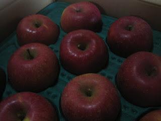 美味しいりんごの見分け方