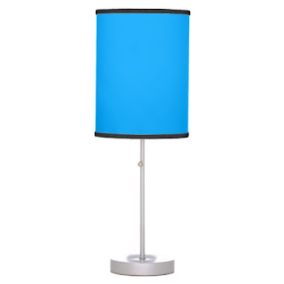 Beach home decor accent lamp