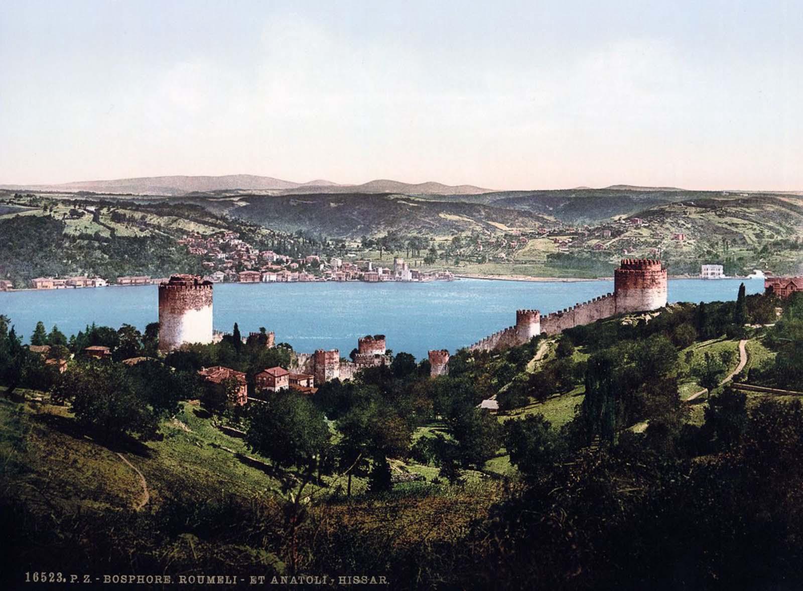 The Bosphorus, Rumeli and Anadali-Hissar.