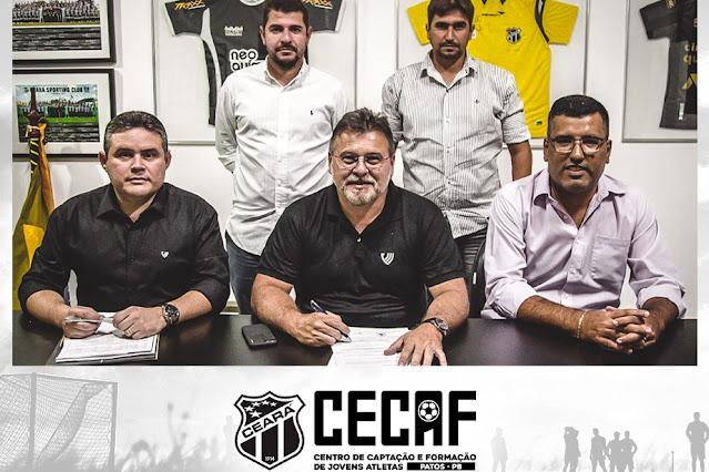 Ceará lança centro de treinamento na cidade de Patos, no Sertão da Paraíba