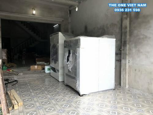 Cung cấp máy giặt sấy công nghiệp cho tiệm giặt tại Bắc Ninh