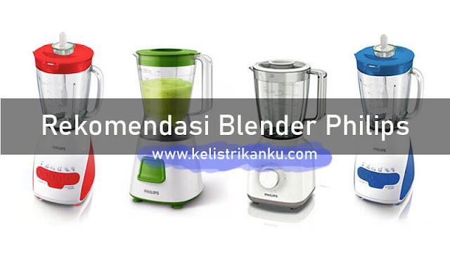 Rekomendasi Blender Merk Philips dan perbandingannya