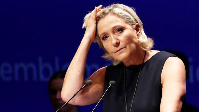 """""""Este régimen empieza a asustar"""": Marine Le Pen afirma que la corte ordenó su examen psiquiátrico"""
