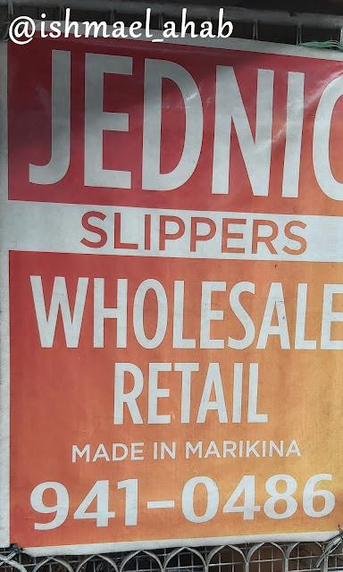 Jednic Slippers Marikina