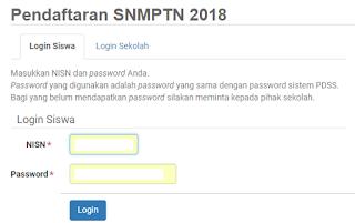 Begini, Cara Lengkap Untuk Mendaftar SNMPTN Yang Benar