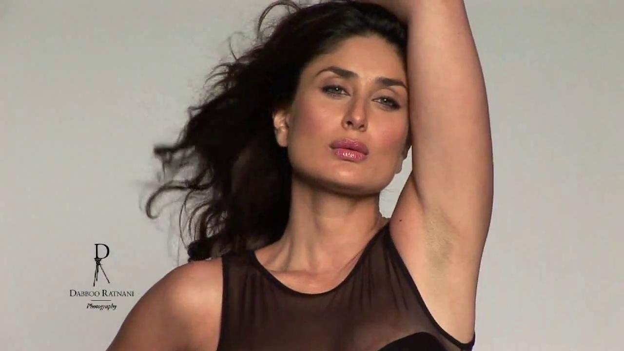 Kareena Kapoor Spicy Photoshoot Pics In Blackdont Miss -6025