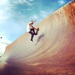 Mark Jansen Skateboarding Adelaide Airwalk
