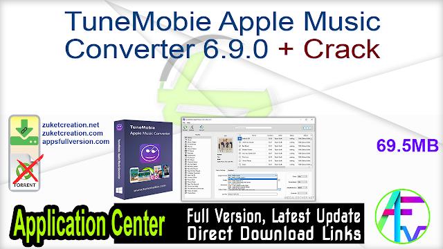 TuneMobie Apple Music Converter 6.9.0 + Crack