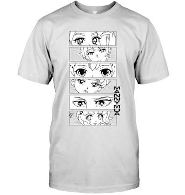Manny MUA Anime T Shirts