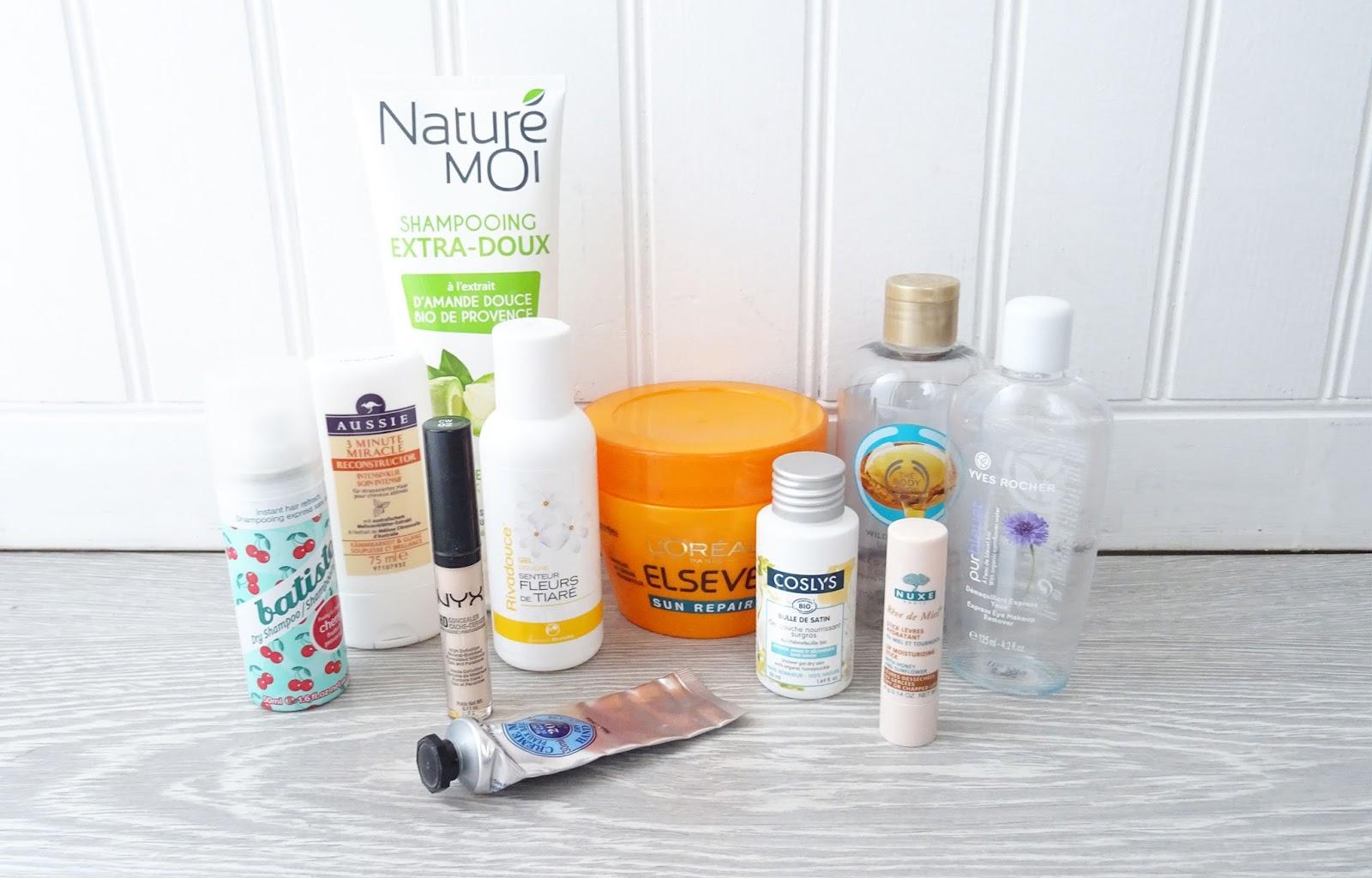 produits terminés soin maquillage visage corps