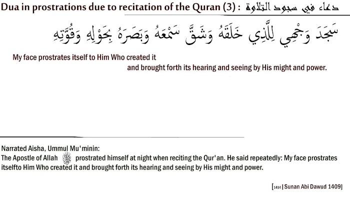 How many sajda in quran