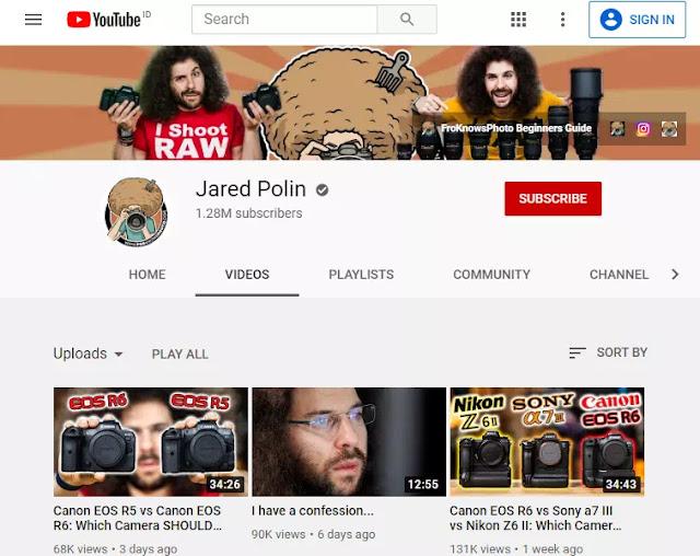 Channel YouTube Untuk Belajar Fotografi dan Videografi-5
