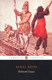 book cover of Penguin Classics edition of Robinson Crusoe by Daniel Defoe