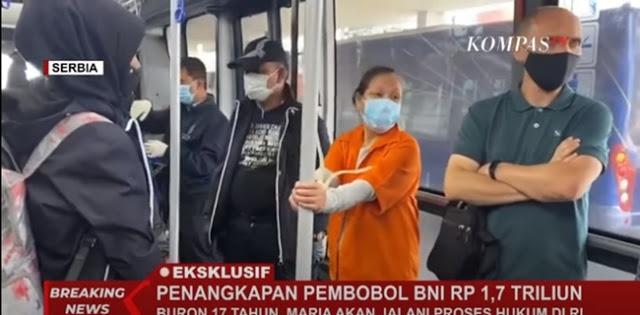 Pembobol Bank BNI 1,7 Triliun Akan Tiba Siang Ini Di Indonesia Setelah 17 Tahun Buron