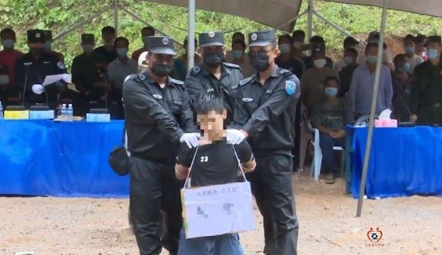 Miến Điện vừa hành quyết công khai 3 công dân Trung Quốc
