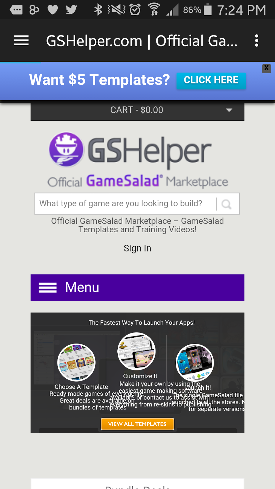 app developer tools for gamesalad reg welcome to the my most used gamesaladreg services into a simple app so i can access gshelper com and other stuff on the gamesaladreg homepage on my smartphone through an